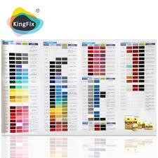 list manufacturers of paint color chart buy paint color chart