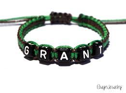 personalized kids jewelry personalized name bracelet boy bracelet cord bracelet kids