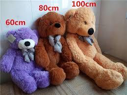 big teddy aliexpress buy plush toys 100cm kawaii big teddy bears