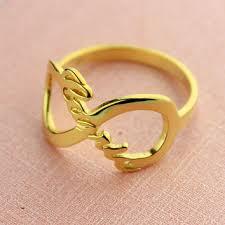 name ring gold shop monogram name rings on wanelo