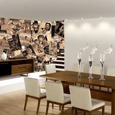 Dining Room Murals Creative Collage Life Icons 1 Wall Murals Touch Of Modern