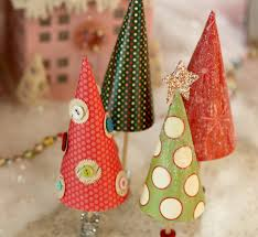 paper christmas trees elle u0027s studio blog