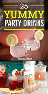 25 easy punch recipes for a party how to make yummy party drinks