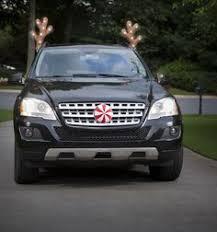 reindeer ears for car rudolph the nose reindeer car decoration set antlers car