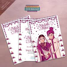 Indian Wedding Invitations Cards Scd Balaji Quirky U0026 Creative Indian Wedding Invitations