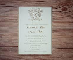 wedding invitations montreal crest wedding invitation crest wedding invitations shield