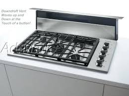 Whirlpool Gold Gas Cooktop Kitchen Top Gas Cooktop With Downdraft Ventilation System 30 Inch
