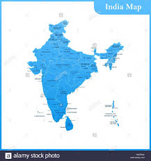 Blank Maharashtra Map by Indian Map Stock Vector Images Alamy