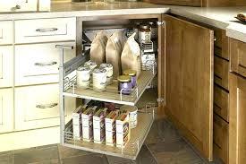blind corner kitchen cabinet organizers corner cabinet organization ideas partum me