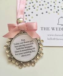 flower girl charms flower girl bridesmaid bouquet charm for something gift