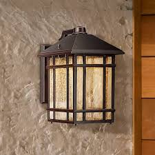 Craftsman Wall Sconce Jardin Du Jour Sierra Craftsman 11