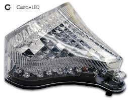 2009 2014 yamaha yzf r1 blaster x integrated led tail light custom led