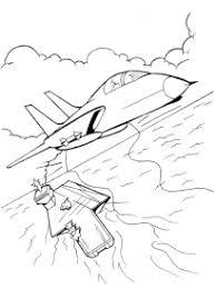 Coloriage Avion à imprimer  page 2