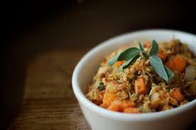 thanksgiving leftovers try turkey yam hash with