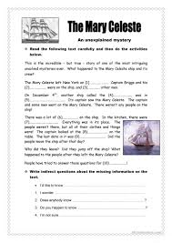 Participle Worksheet 73 Free Esl Question Tags Worksheets