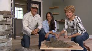 hgtv u0027s chip and joanna gains visit cbs sunday morning today