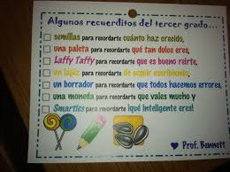 end of the year gift for spanish immersion students awesome