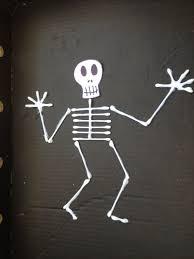 skeleton craft ideas my kid craft