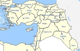 Location Of The Ottoman Empire by Armenian Immigration Project