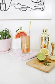 one drink table grapefruit citrus sparkling mocktail u2013 a beautiful mess