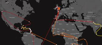 map of baton design and route for gold coast 2018 s baton relay revealed