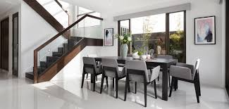 the most popular color trend for interior theme of dining room in