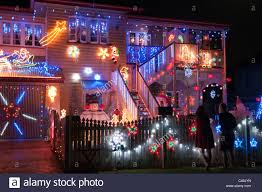 christmas lights decorating a house brisbane queensland