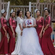 plus size burgundy bridesmaid dresses aliexpress buy bridesmaid dresses 2017 burgundy plus