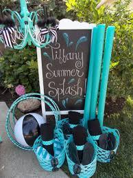Pool Party Ideas Tiffany Summer Splash Pool Party Ideas Laura U0027s Little Party