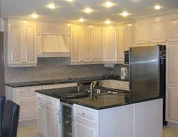 kitchen alluring white painted oak kitchen cabinets before and