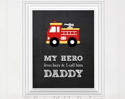 Firefighter Kids Etsy - Firefighter kids room