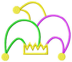 mardi gras items jester hat clipart free clip free clip on