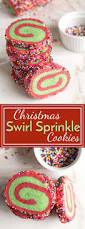 christmas swirl sprinkle cookies recipe swirl sugar cookies