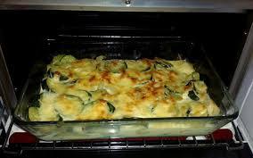 recette cuisine facile rapide recette gratin de courgettes rapide pas chère et simple cuisine