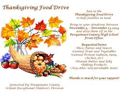 thanksgiving food drive flyer created by eyecarlie designs food