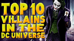 dc universe halloween costumes top 10 super villains in the dc universe top 10 top ten youtube