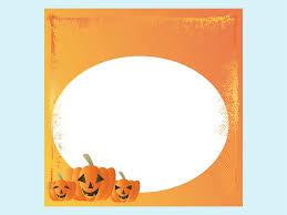 halloween card template vector art u0026 graphics freevector com