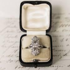 reserved erin art deco diamond rings art deco diamond and art deco