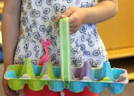 pre made easter baskets for toddlers easter baskets kids can make with recyclables