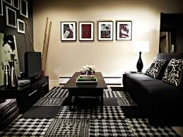 black and white living room photos popsugar home