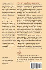 america in european consciousness 1493 1750 published by the