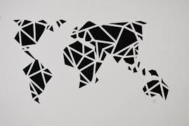 World Map Stencil by World Map U2014 Maidabynina