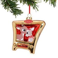 rudolph the nosed reindeer 50th anniversary dated ornament by