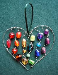 25 unique wire ornaments ideas on diy aluminum