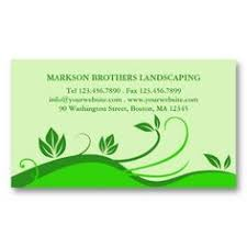 Lawncare Business Cards Landscaping Lawn Care Trees Gardener Business Card Lawn Care