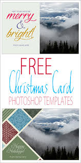 3 free photoshop christmas card templates christmas card