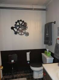 boy teenage bathroom ideas industrial style with wheels decor and