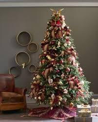 the easeful silhouette of the balsam hill fraser fir along with