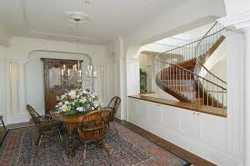 Living Room And Dining Room Divider Half Wall Room Divider Dining Room Traditional With Centerpiece