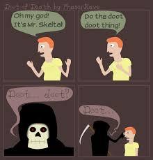 Doot Doot Meme - doot of death by phaserrave on deviantart